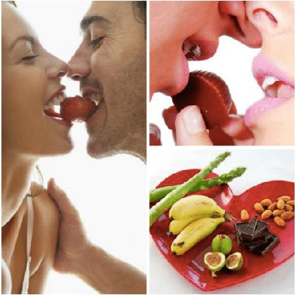 Cosas afrodisiacas para mujeres