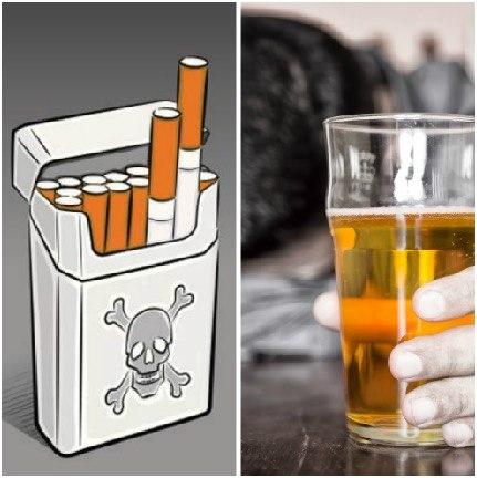 no fumar ni beber